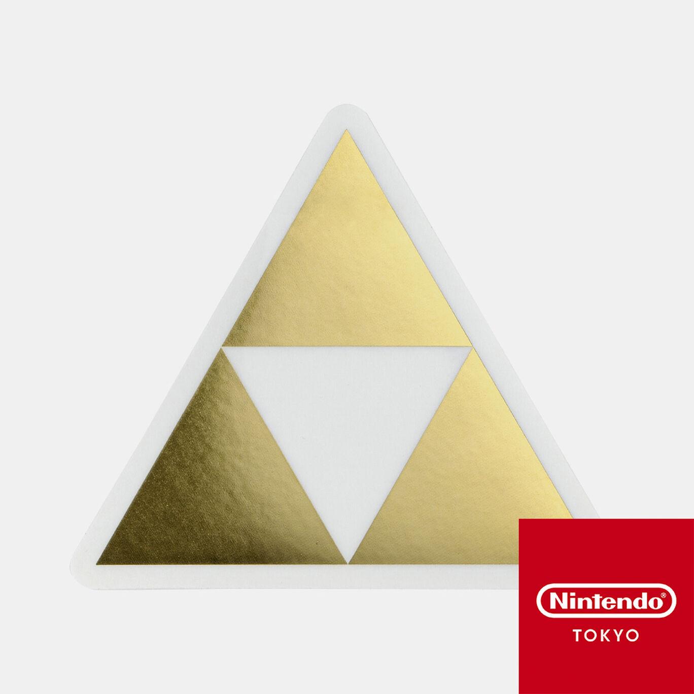 ダイカットステッカー ゼルダの伝説 A【Nintendo TOKYO取り扱い商品】