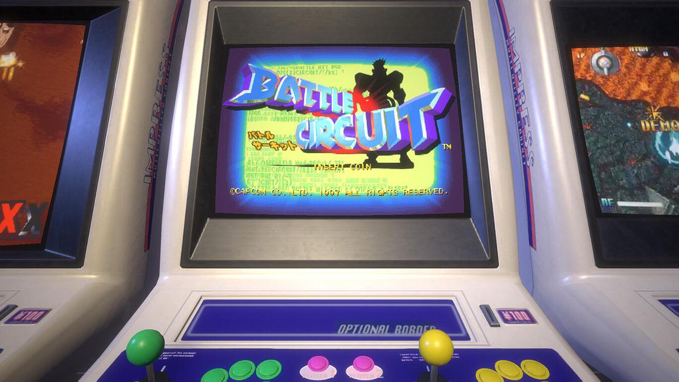 Capcom Arcade Stadium:バトルサーキット