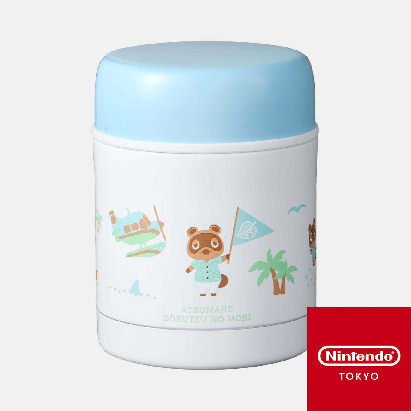 スープジャー あつまれ どうぶつの森【Nintendo TOKYO取り扱い商品】