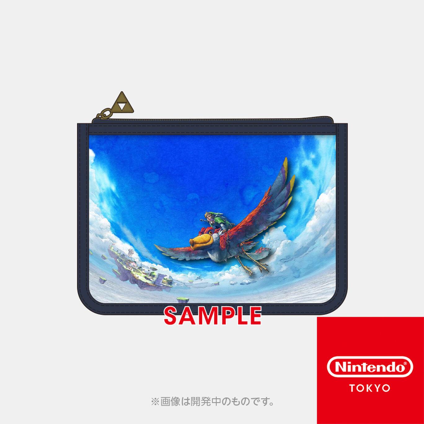 【新商品】クリアポーチ ゼルダの伝説 スカイウォードソード HD【Nintendo TOKYO取り扱い商品】
