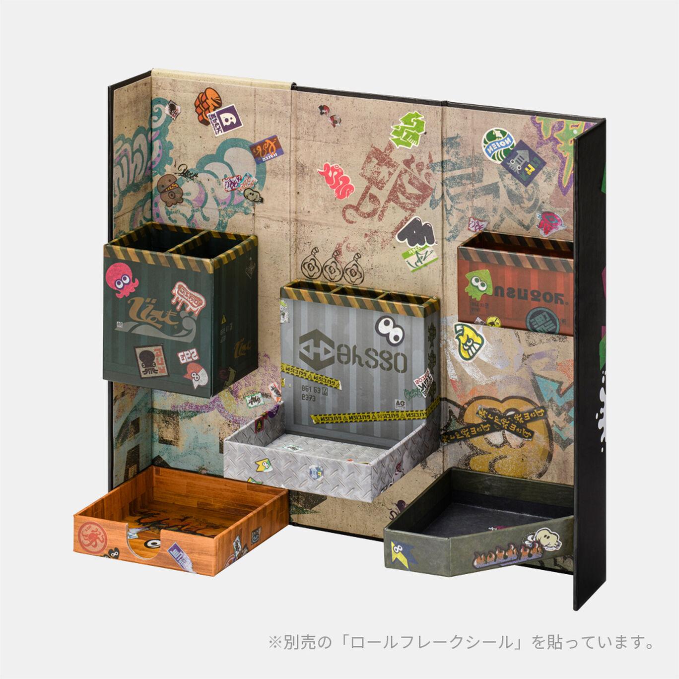 【新商品】ステーショナリーボックス SQUID or OCTO Splatoon【Nintendo TOKYO取り扱い商品】