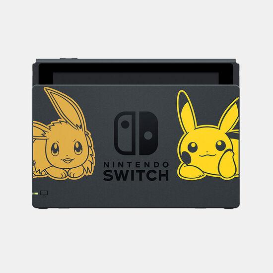 Nintendo Switchドック (『ポケットモンスター Let's Go! ピカチュウ・Let's Go! イーブイ』)