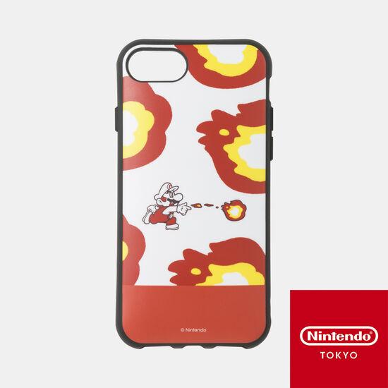 スマホケース スーパーマリオ パワーアップ A iPhone 8/7/6s/6 対応【Nintendo TOKYO取り扱い商品】