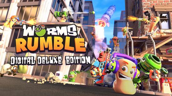 『Worms Rumble』 デジタルデラックス・エディション
