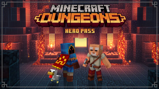 Minecraft Dungeons: Hero Pass (ヒーローパス)