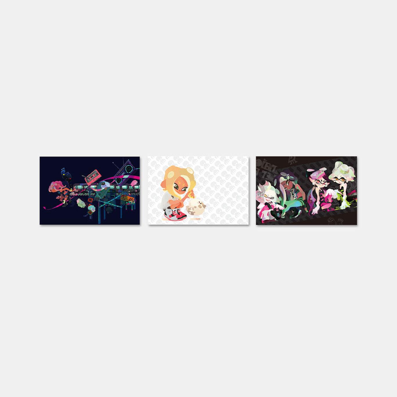 スプラトゥーン2 イカすポストカードコレクション(8種)