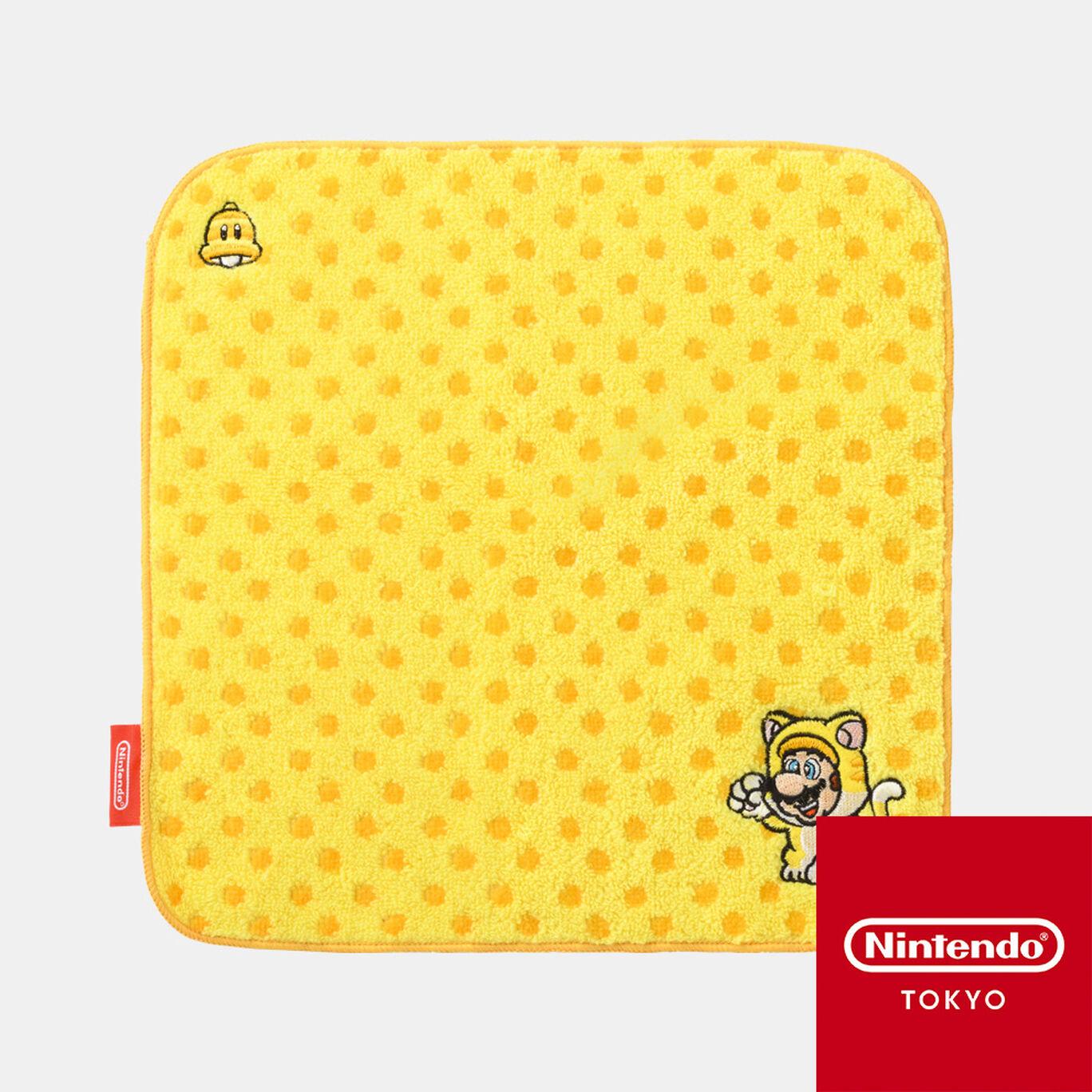 ミニタオル スーパーマリオ パワーアップ C【Nintendo TOKYO取り扱い商品】