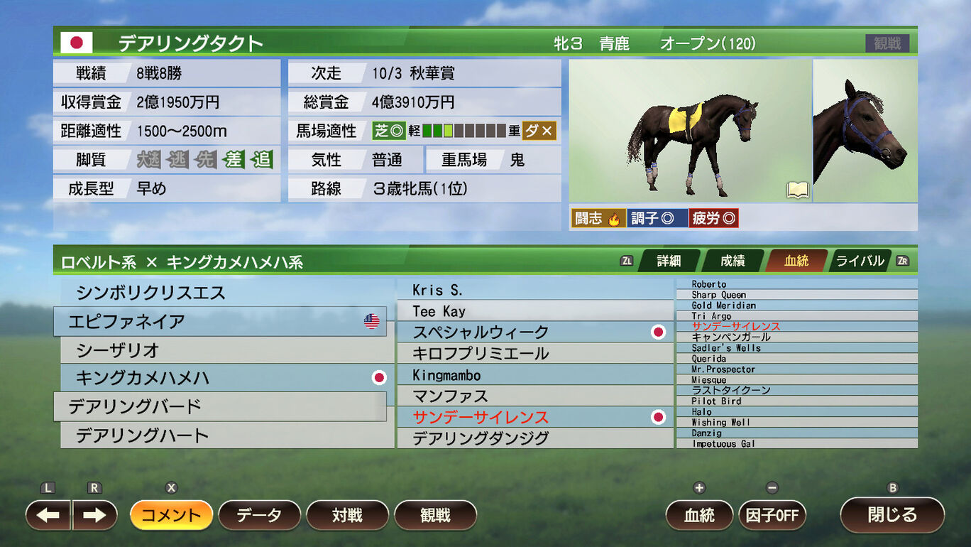 WP9 2021 令和 無敗の3冠馬 購入権セット 全2頭