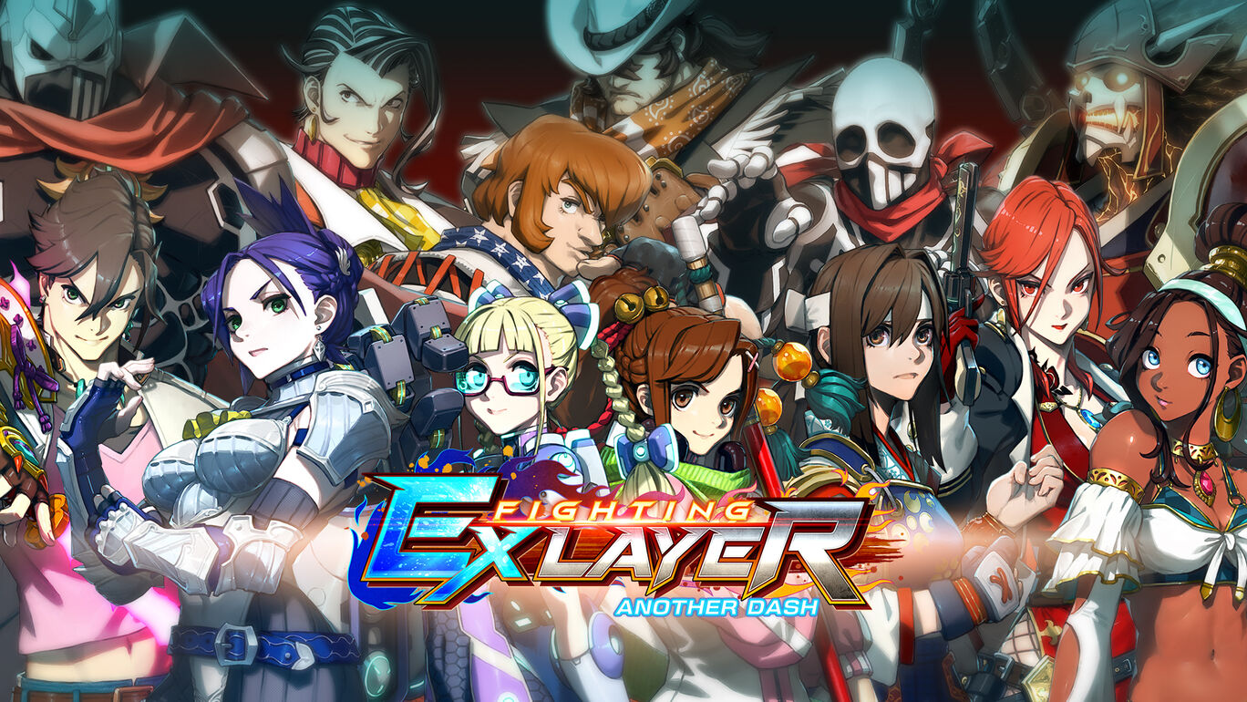 FIGHTING EX LAYER ANOTHER DASH フルパック