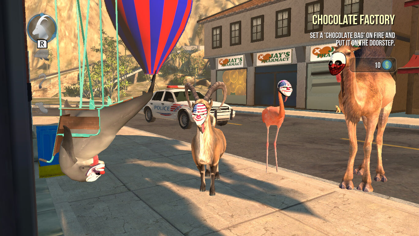 Goat Simulator: The GOATY(ゴートシミュレーター)
