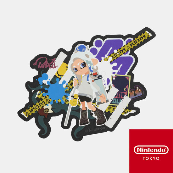 ステッカー CROSSING SPLATOON C【Nintendo TOKYO取り扱い商品】