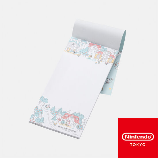一筆箋 どうぶつの森【Nintendo TOKYO取り扱い商品】