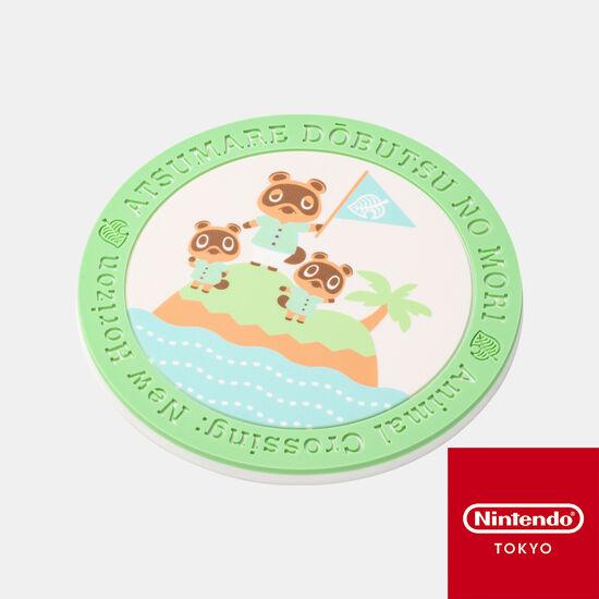 【新商品】ラバーコースター あつまれ どうぶつの森【Nintendo TOKYO取り扱い商品】