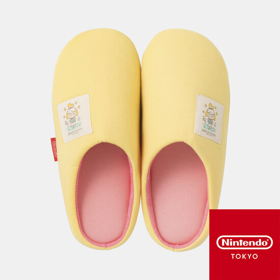 ルームシューズ どうぶつの森 A【Nintendo TOKYO取り扱い商品】