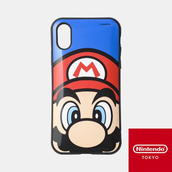 スマホカバーiPhone XS/X 対応 スーパーマリオ C【Nintendo TOKYO取り扱い商品】