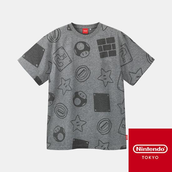 Tシャツ スーパーマリオ B【Nintendo TOKYO取り扱い商品】