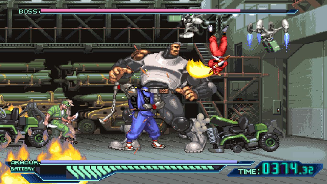 The Ninja Warriors Once Again (ザ・ニンジャウォーリアーズ ワンスアゲイン)