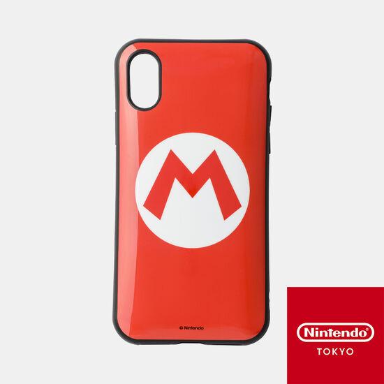スマホカバーiPhone XS/X 対応 スーパーマリオ A【Nintendo TOKYO取り扱い商品】