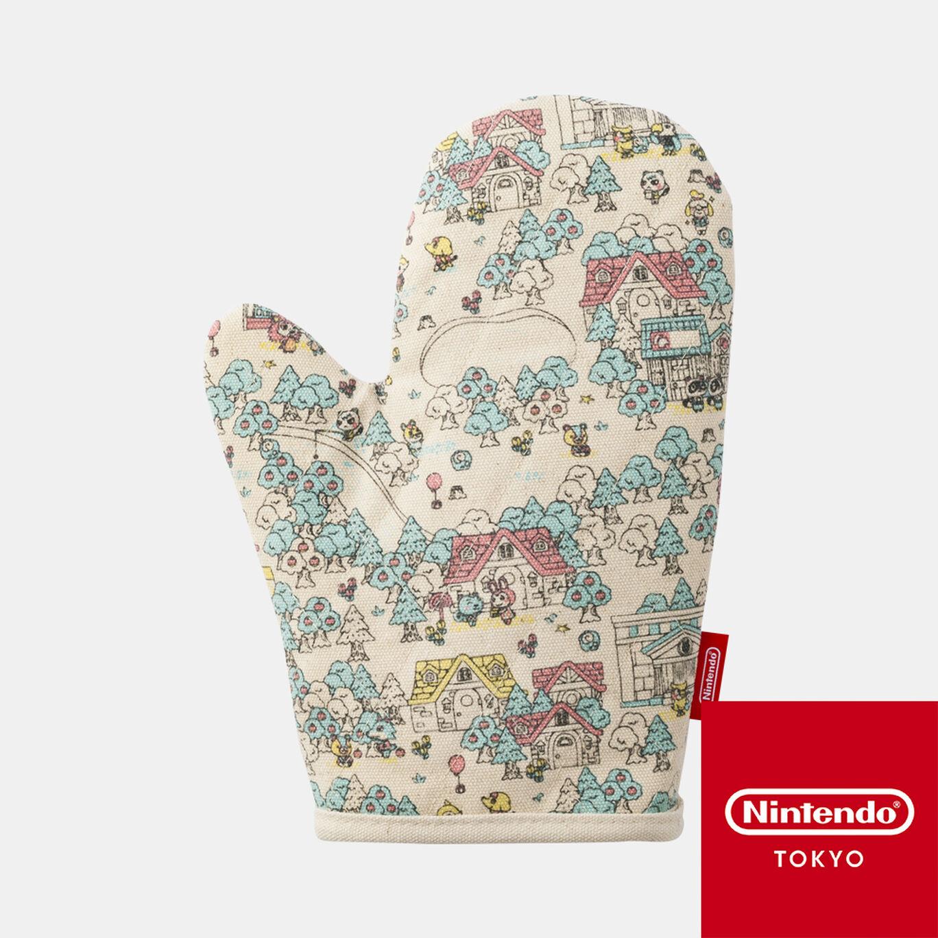 キッチンミトン どうぶつの森【Nintendo TOKYO取り扱い商品】