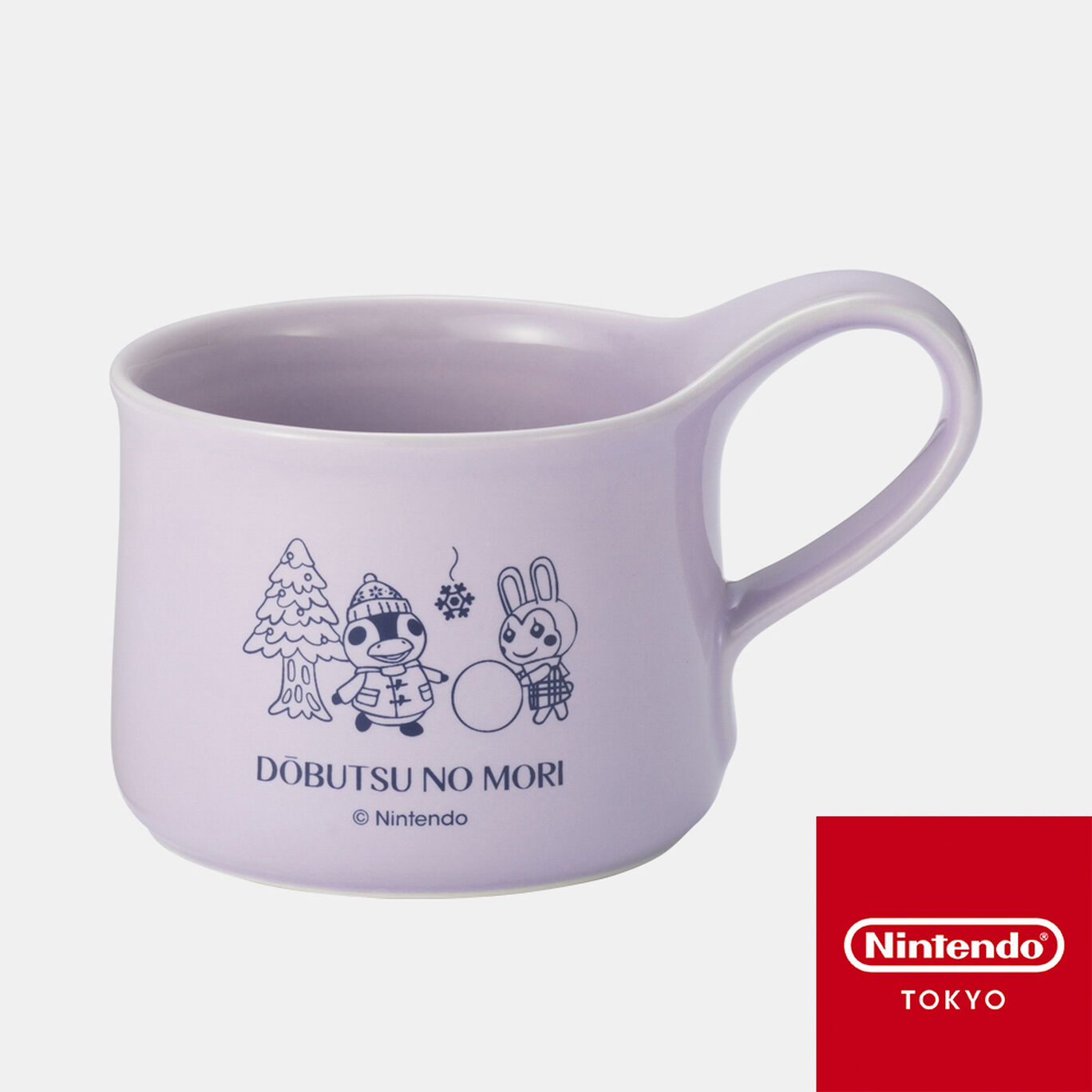 【新商品】ティーカップ  どうぶつの森【Nintendo TOKYO取り扱い商品】