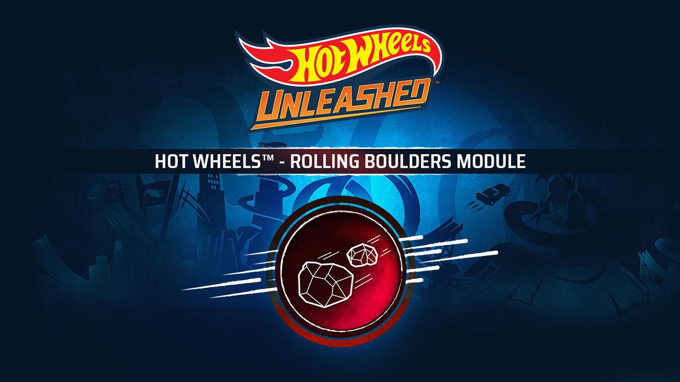 HOT WHEELS™ - Rolling Boulders Module