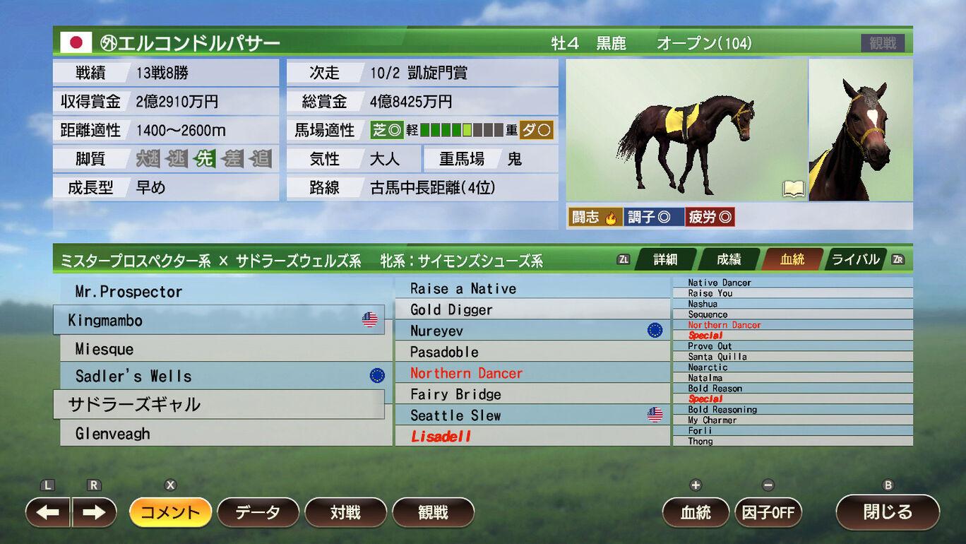 WP9 2021 名馬購入権フルセット 全18頭
