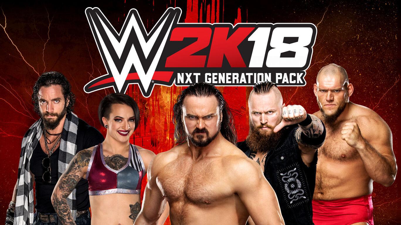 WWE 2K18 NXT Generationパック