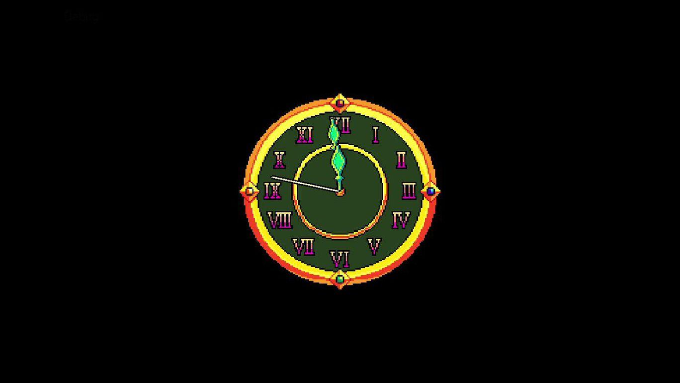 エバーダークの時計塔