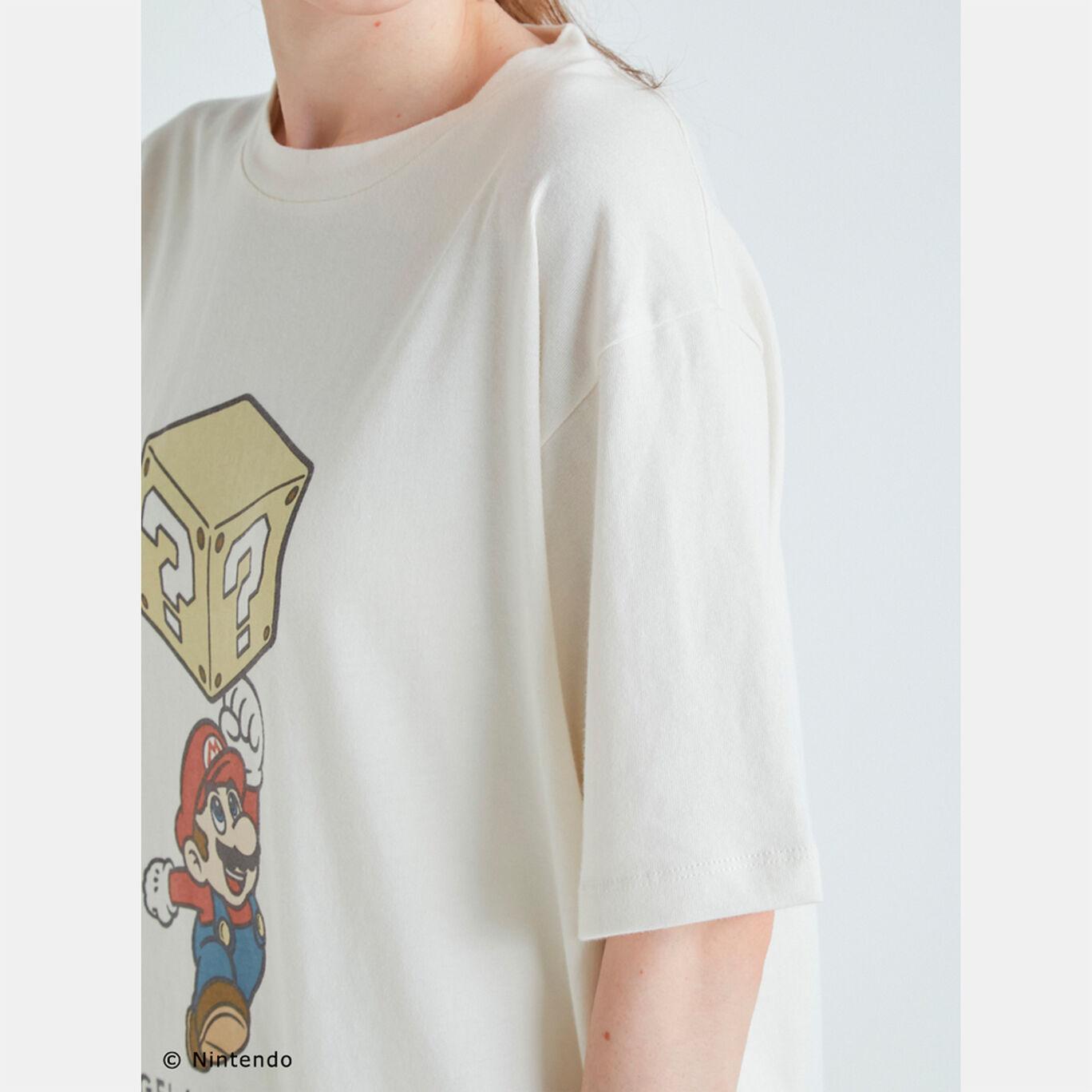 【スーパーマリオ】キャラクターTシャツ OWHT F【SUPER MARIO meets GELATO PIQUE】