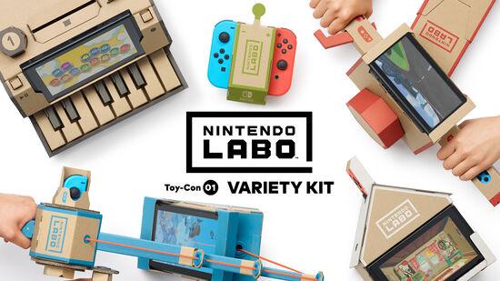 Nintendo Labo Toy-Con 01: Variety Kit(バラエティ キット)