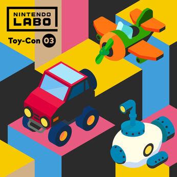 Nintendo Labo Toy-Con 03: Drive Kit(ドライブ キット)