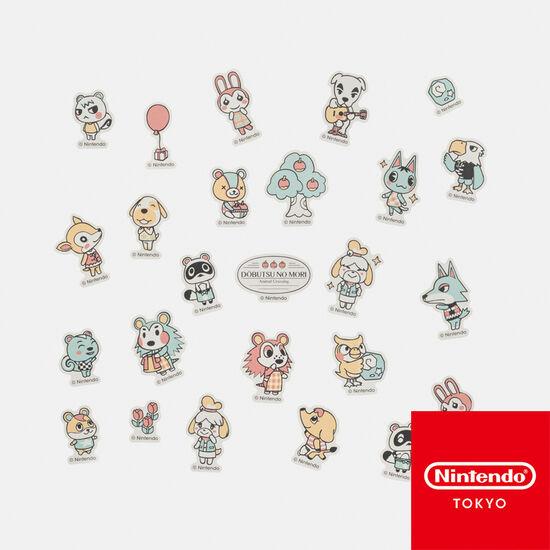 フレークシール どうぶつの森【Nintendo TOKYO取り扱い商品】