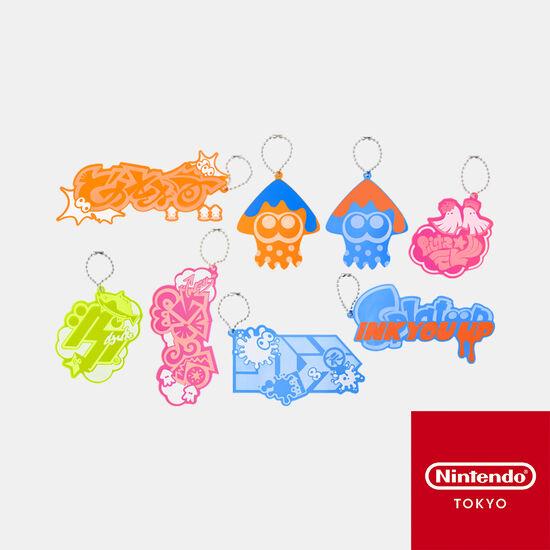 【単品】アクリルチャームコレクション  INK YOU UP【Nintendo TOKYO取り扱い商品】