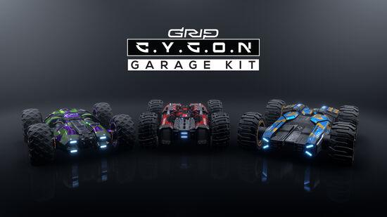 追加コンテンツ「Cygonガレージキット」