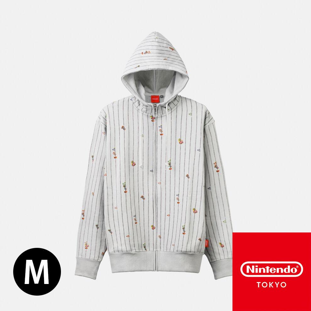パーカー  スーパーマリオファミリーライフ M【Nintendo TOKYO取り扱い商品】