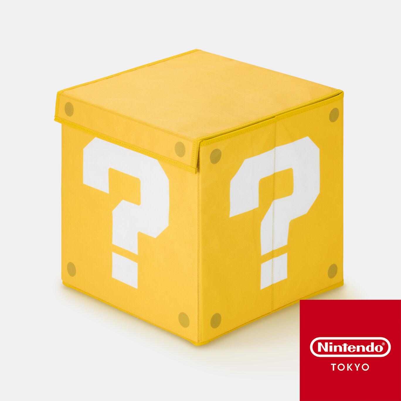 収納箱 スーパーマリオ ハテナブロック【Nintendo TOKYO取り扱い商品】