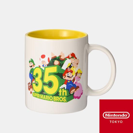 マグカップ SUPER MARIO BROS. 35th【Nintendo TOKYO取り扱い商品】