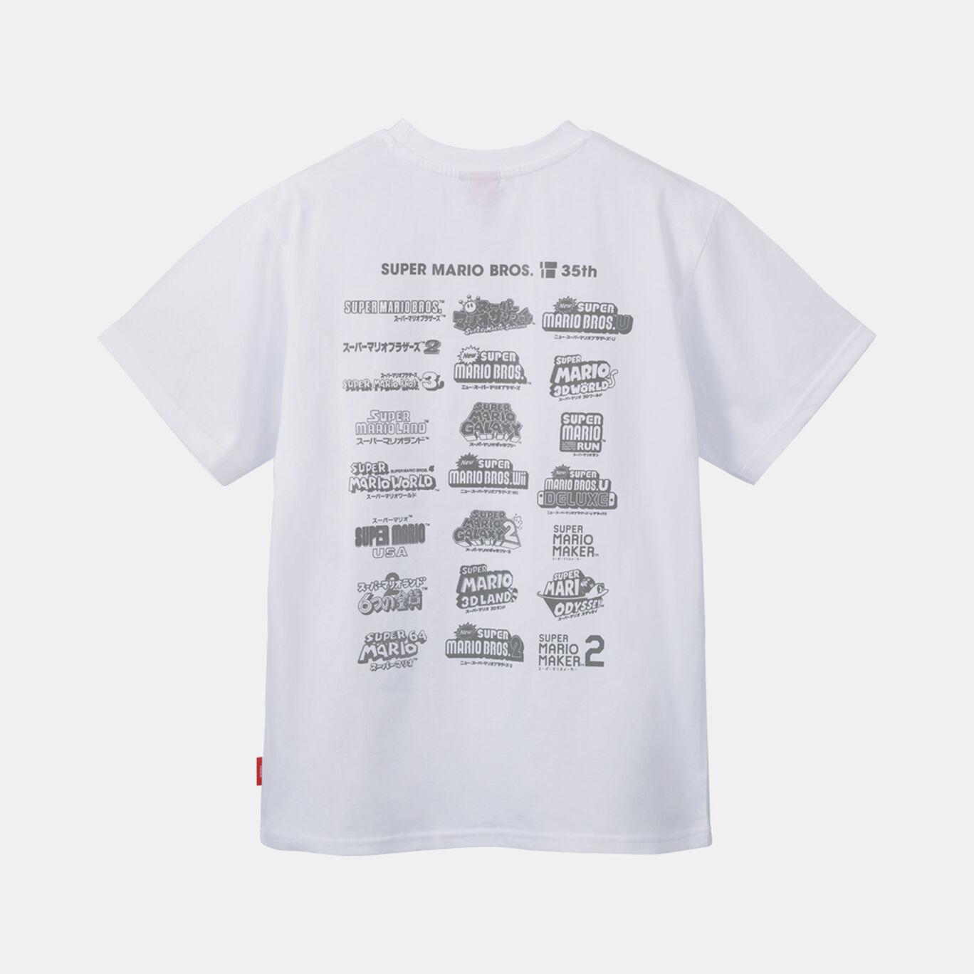 Tシャツ S SUPER MARIO BROS. 35th【Nintendo TOKYO取り扱い商品】