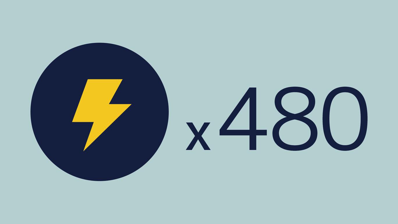 ライトニング+480